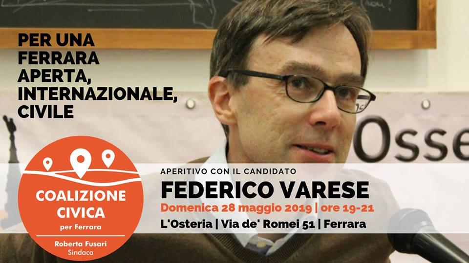 Aperitivo Con Il Prof. Federico Varese